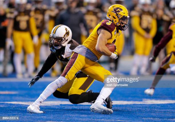 Central Michigan Chippewas wide receiver Mark Chapman during Famous Idaho Potato Bowl featuring the Central Michigan Chippewas and Wyoming Cowboys on...