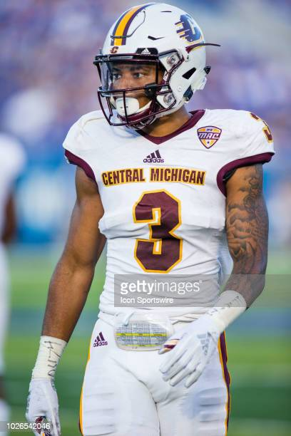 Central Michigan cornerback Sean Bunting during a regular season college football game between the Central Michigan Chippewas and the Kentucky...