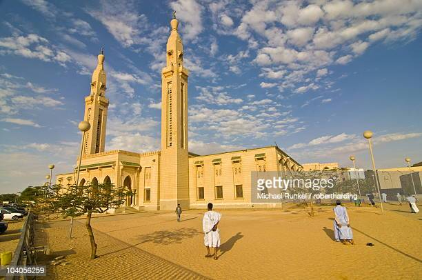 Central mosque in Nouakchott, Mauritania, Africa