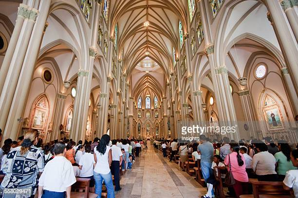 Central Nave Of The Cathedral Guayaquil Guayas Ecuador