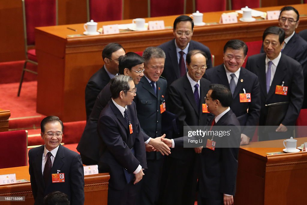 The Fifth Plenary Session Of The National People's Congress : News Photo