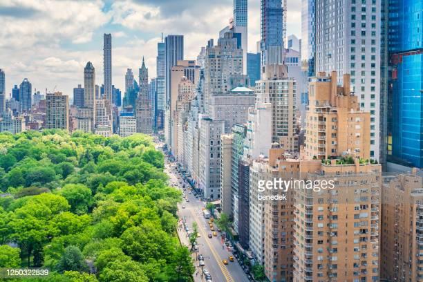 central park e 59th street manhattan new york city eua - central park manhattan - fotografias e filmes do acervo