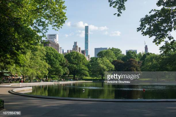 Central Park and Skyscraper 432, Park Avenue, New York, United States