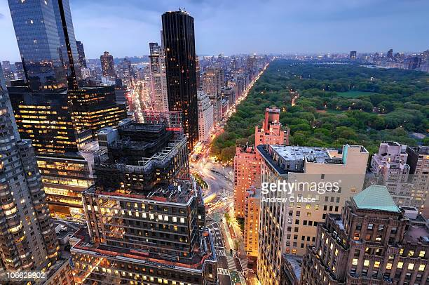 Central Park and the Upper West Side at Twilight