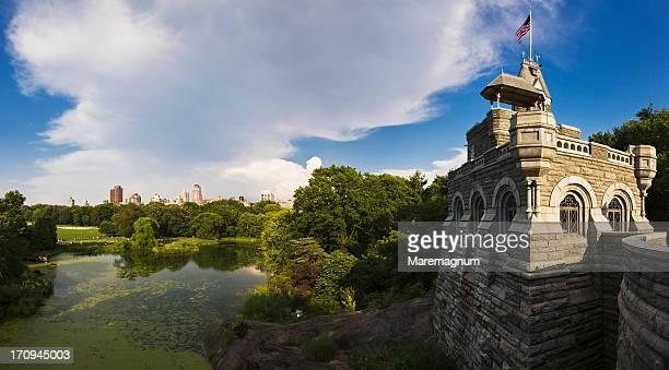 Central Park, Belvedere Castle and Belvedere Lake