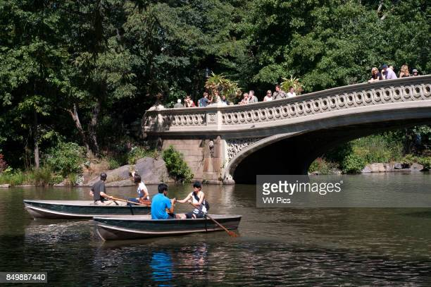 Central Park Boats in The Lake New York
