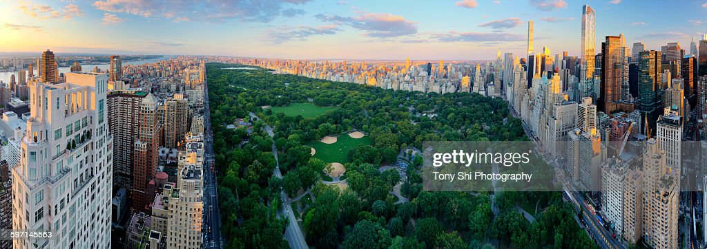 Central Park, Crown Jewel of New York : Stock Photo