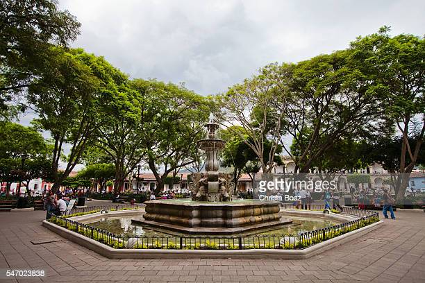 Parque Central (Plaza Mayor) Fountain