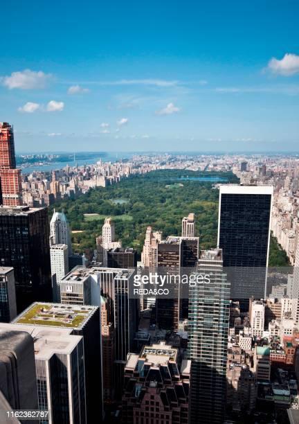 Central Park. Manhattan. New York City. USA; North America.