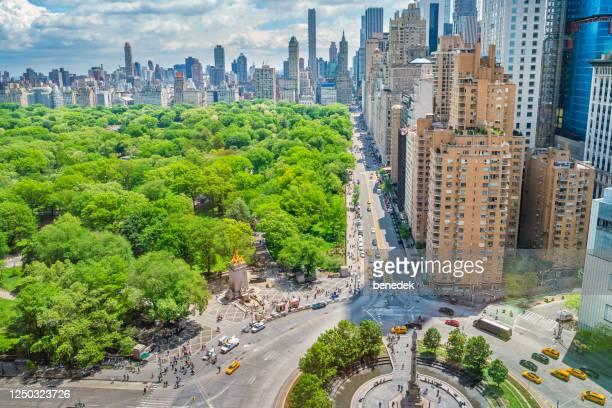 central park midtown manhattan nova york eua - central park manhattan - fotografias e filmes do acervo