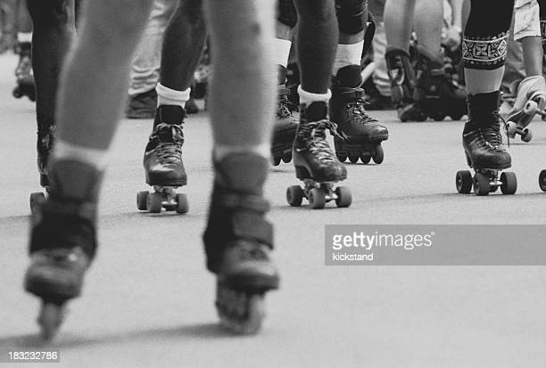 Central Park rollerbladers and skaters