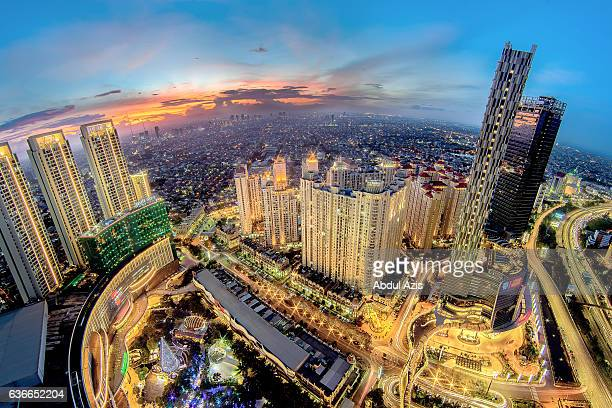 Central Park Shopping Mall - Jakarta Sunset