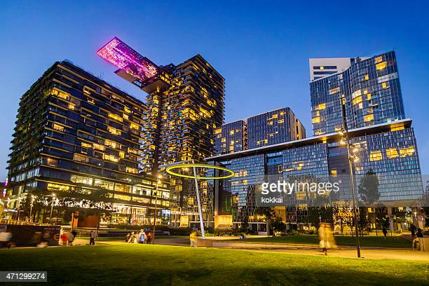 central park sydney (night) - male stripper stock pictures, royalty-free photos & images