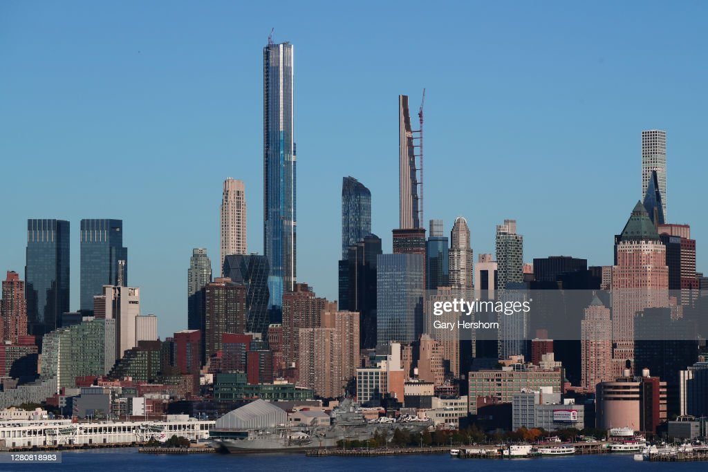 Central Park Tower in New York City : News Photo