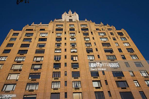 55 central park west, built in 1929, art deco landmark apartment building, new york, ny, u.s.a. - 1920 1929 stock pictures, royalty-free photos & images
