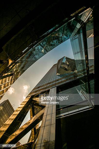 central plaza tower architecture - merten snijders stock pictures, royalty-free photos & images