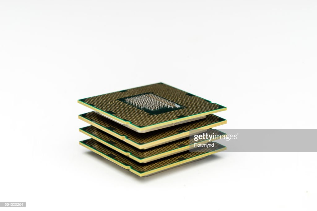central processing unit : Stock Photo