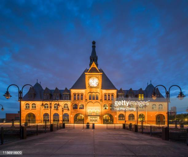 central railroad of new jersey, liberty state park - new york - jersey city stock pictures, royalty-free photos & images