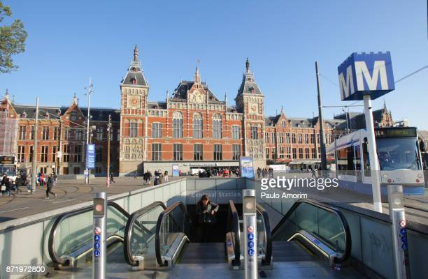 Central Railway Station of Amsterdam