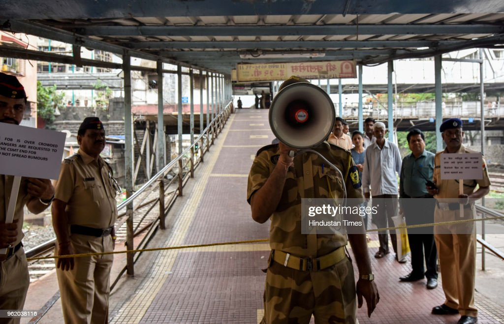 Central Railways Operating, Commercial And Protecting Force Organized Mock Drills In Mumbai