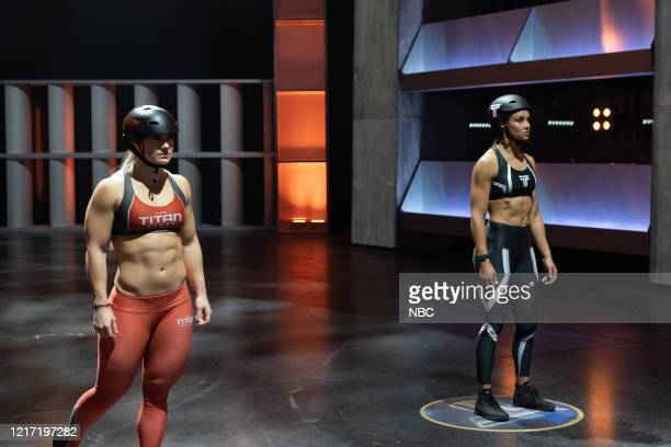 GAMES Central Region 2 The Rock Meets Doc Thor Episode 203 Pictured Dani Speegle Chantae McMillan