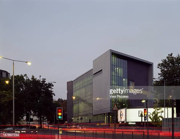 Central School Of Speech And Drama London United Kingdom Architect Jestico And Whiles Central School Of Speech And Drama Dusk From Finchley Road