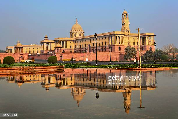 central secretariat on raisina hill - haryana stock pictures, royalty-free photos & images
