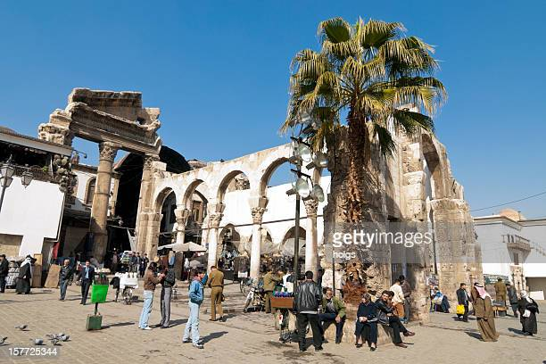 Central square in Damascus, Syria