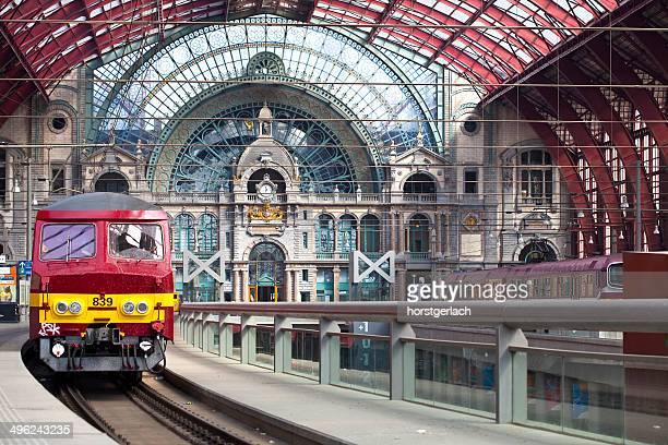 Central Station in Antwerp, Belgium