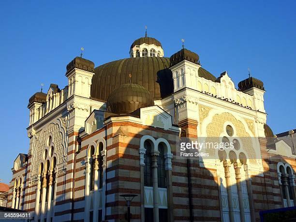 central synagogue in sofia, bulgaria - frans sellies stockfoto's en -beelden