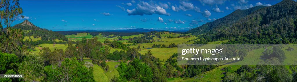 Central Tilba, southern coastline of New South Wales, Australia. : Stock Photo