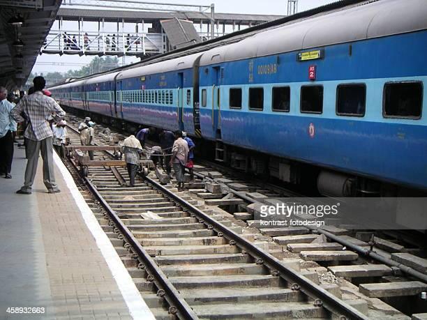 Central train station of Thiruvanthapuram, Kerala, India