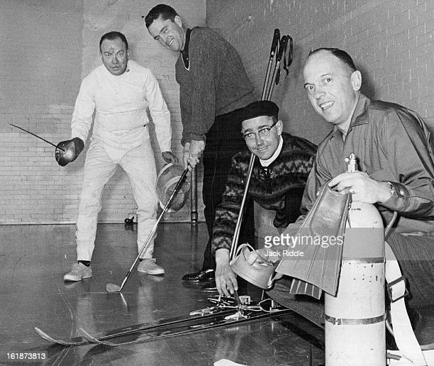 JAN 23 1962 Central YMCA Instructors Central Branch of YMCA 25 E 16th Ave is offering instruction this winter in sports ranging from golf to scuba...