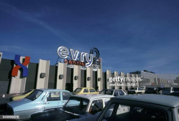 Centre commercial Evry 2 en mars 1980 à Evry France