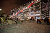Centre George Pompidou by night, Paris