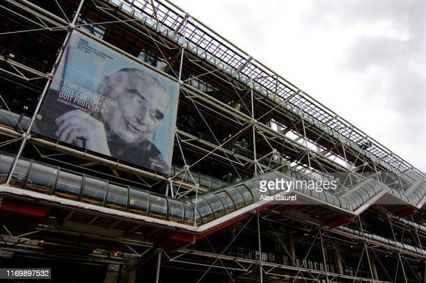 centre georges pompidou (palais beaubourg) - président photos et images de collection