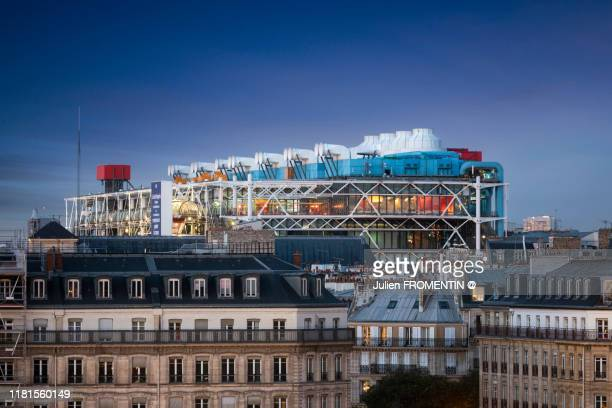 centre national d'art et culture georges-pompidou - centre georges pompidou stock pictures, royalty-free photos & images