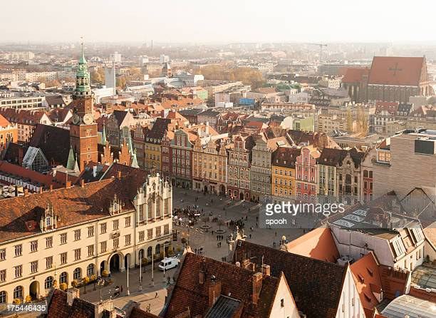 Centre of Wroclaw, Poland