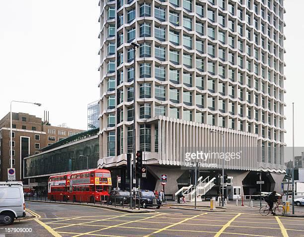 Centre Point London United Kingdom Architect Richard Seifert Centre Point Exterior Bottom Of Building From Tottenham Court Road