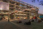 Centre Pompidou (Beauborg), Paris, France