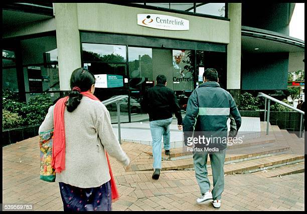 Centrelink 30 June 2003 AFR Picture by JIM RICE