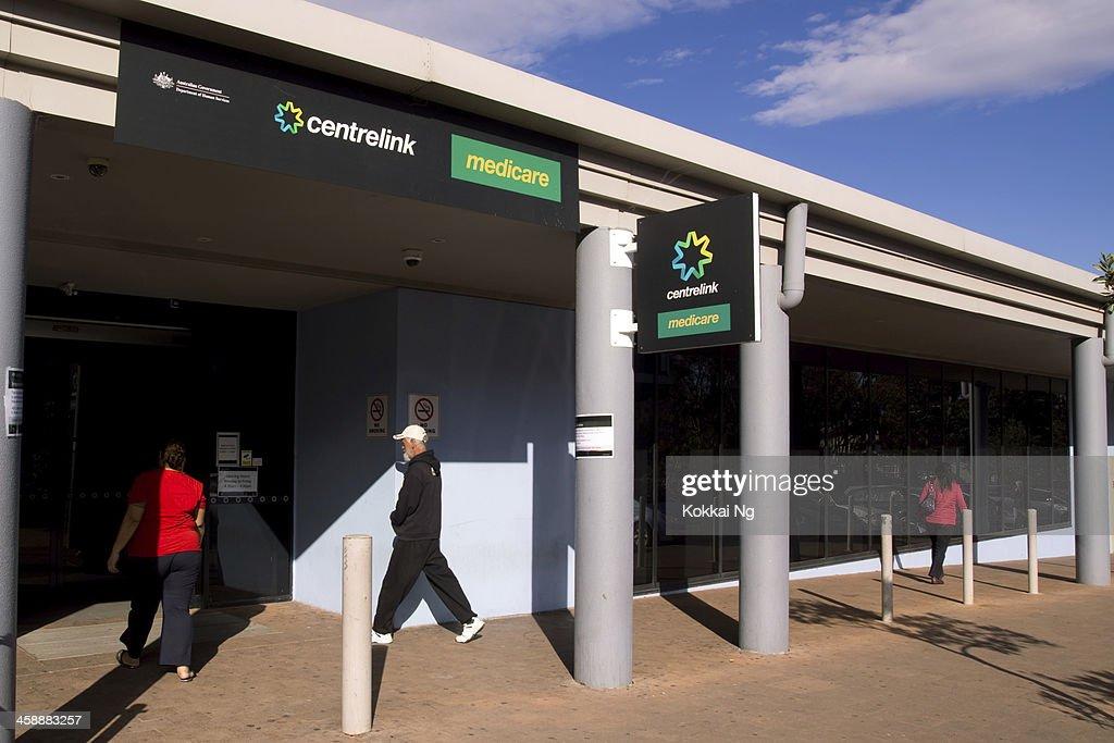 Centrelink und Medicare : Stock-Foto