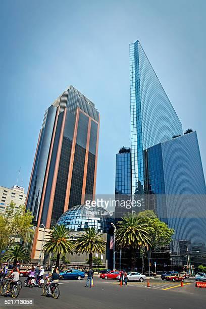 Centro Bursátil, the Mexican Stock Exchange Building, Mexico Cit