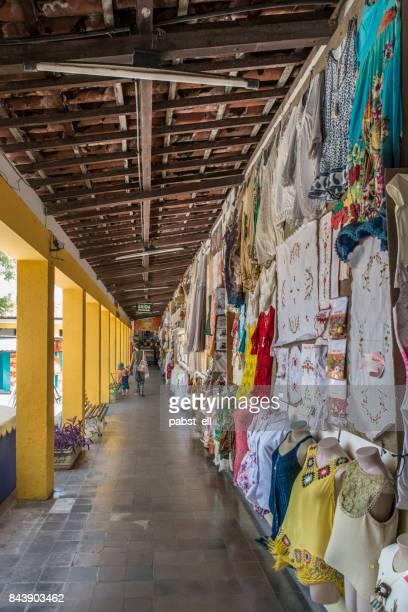 Centro de Turismo de Natal corridor clothes
