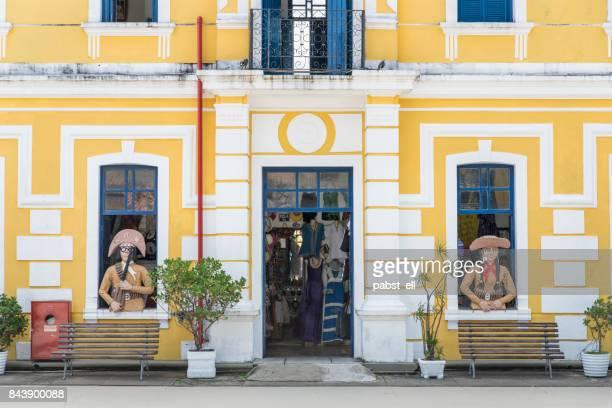 Centro de Turismo de Natal internal cangaceiro facade