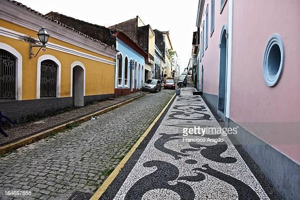 centro histórico de são luís / historic centre of - maranhao state stock pictures, royalty-free photos & images