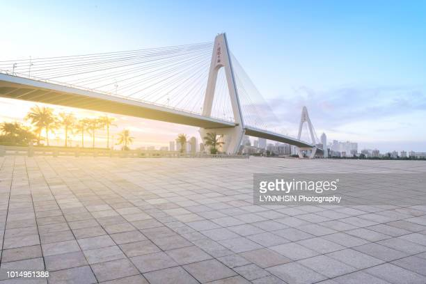 centry bridge of haikou city, asia china,hainan province, haikou city - lynnhsin stock pictures, royalty-free photos & images
