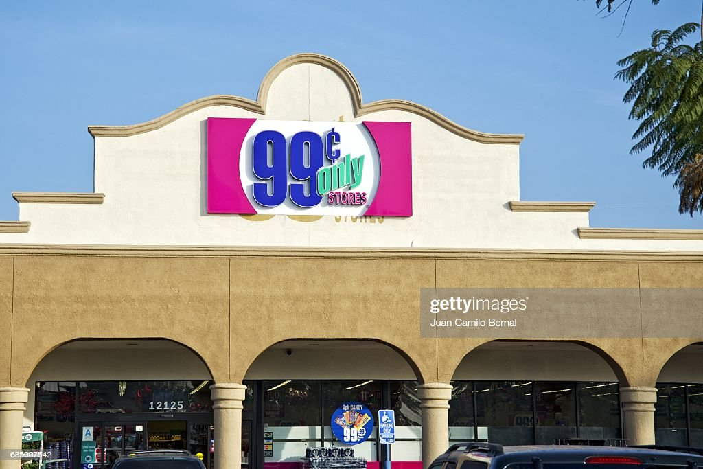 99 Cents Only Store Facade Stock Photo