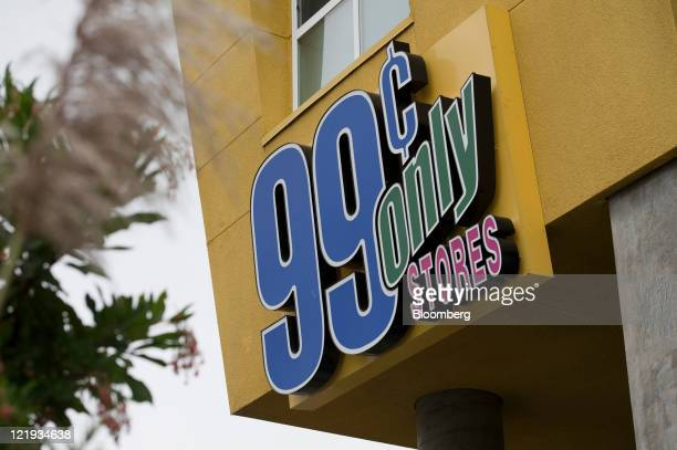 99 Cents Only Store signage is displayed on the facade of a store in Oakland California US on Monday Aug 22 2011 Apollo Global Management LLC will...