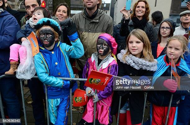 Centuries old tradition from which Santa Claus is derived Sinterklaas or Saint Nicholas a bishop and patron saint of children arrives in the...